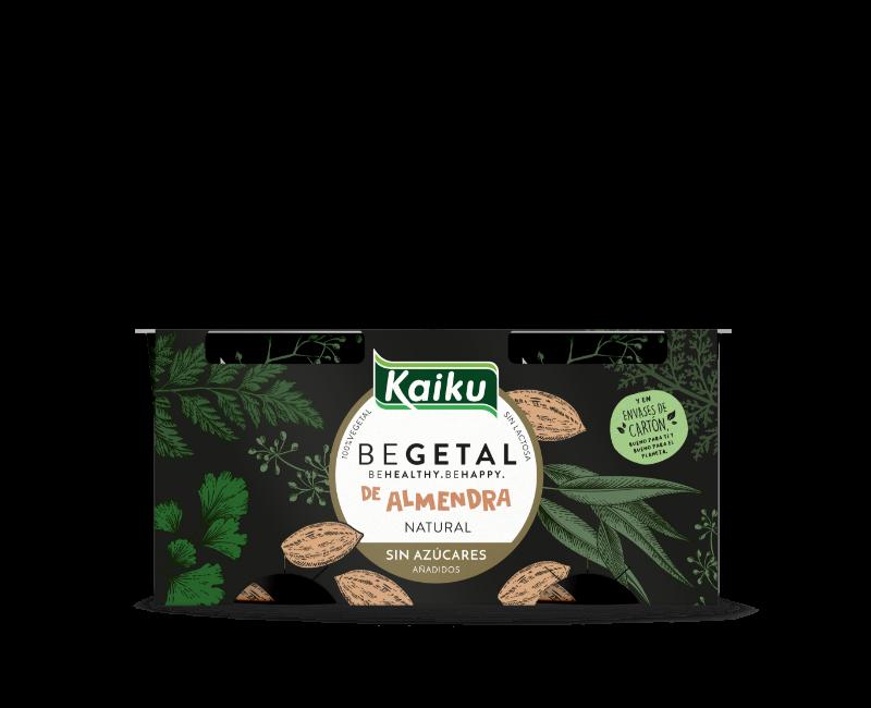 KBEGETAL Yogures-Almendra Natural Sin Azucar