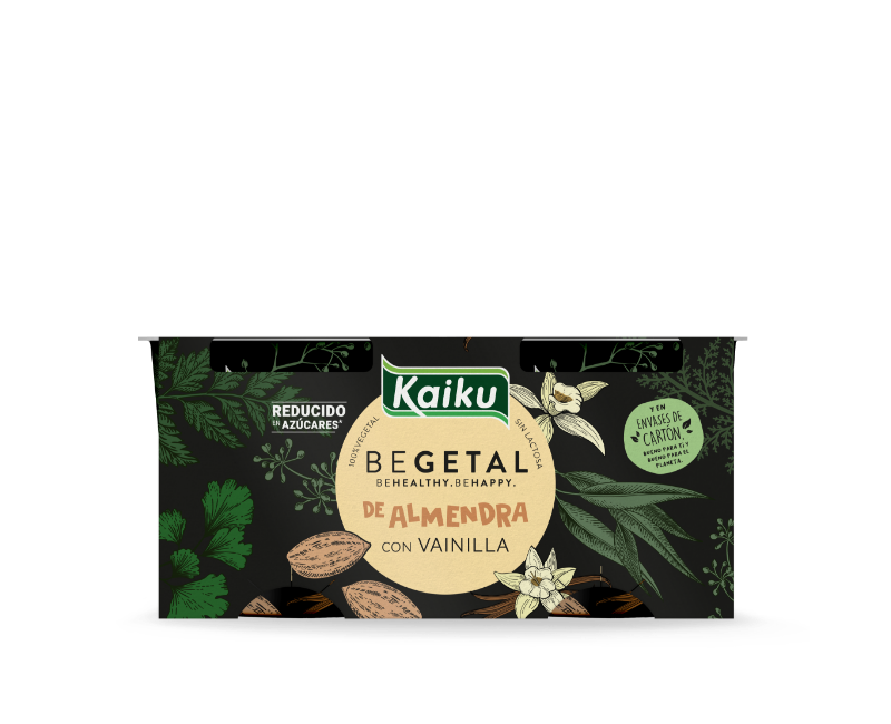 KBEGETAL Yogures Almendra Vainilla