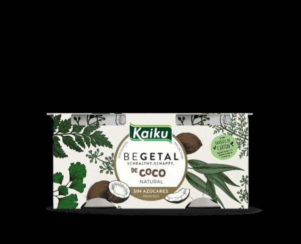 KBEGETAL Yogures Coco Natural Sin Azucar