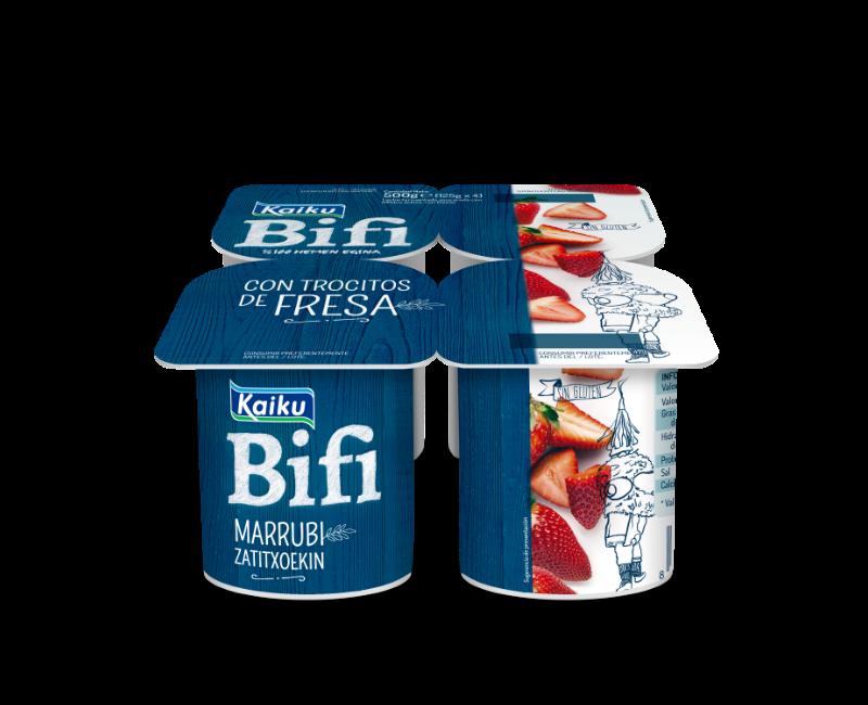 KM0 Yogur Bifi Fresa Trozos