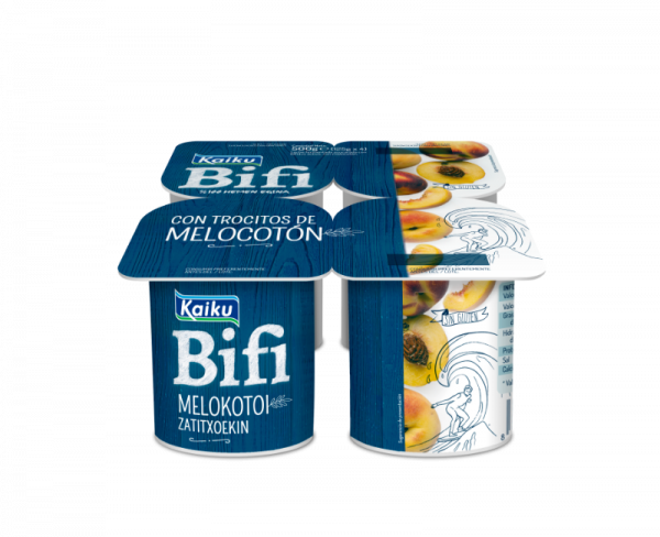 KM0 Yogur Bifi Melocoton