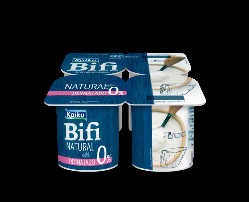 KM0 Yogur Bifi Natural Desnatado