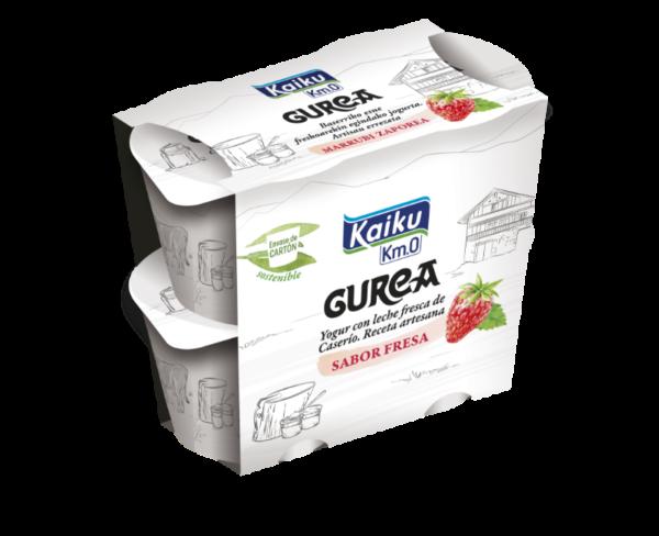 GUREA Yogur Fresa Pack4