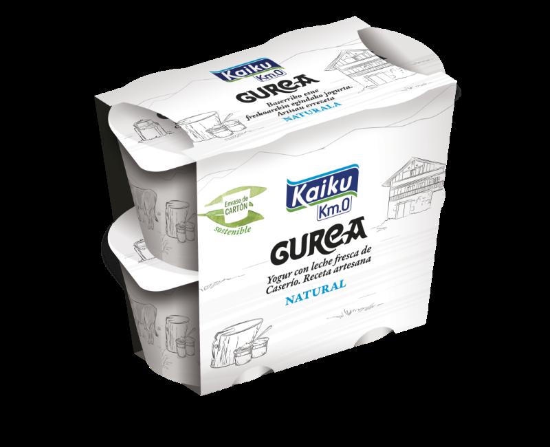 GUREA Yogur Natural Pack4