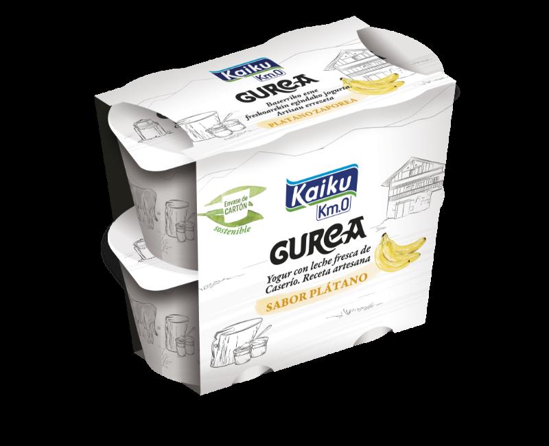 GUREA Yogur Platano Pack4