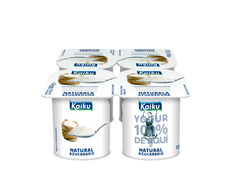 KM0 Yogur Natural Azucarado