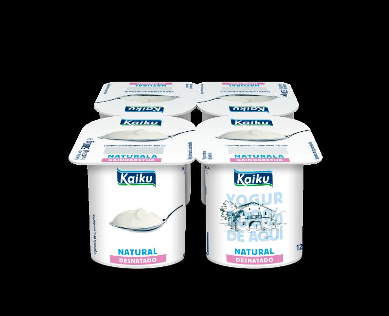 KM0 Yogur Natural Desnatado